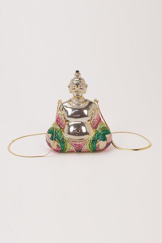 Judith Leiber Buddha Crystal Evening Bag - 2