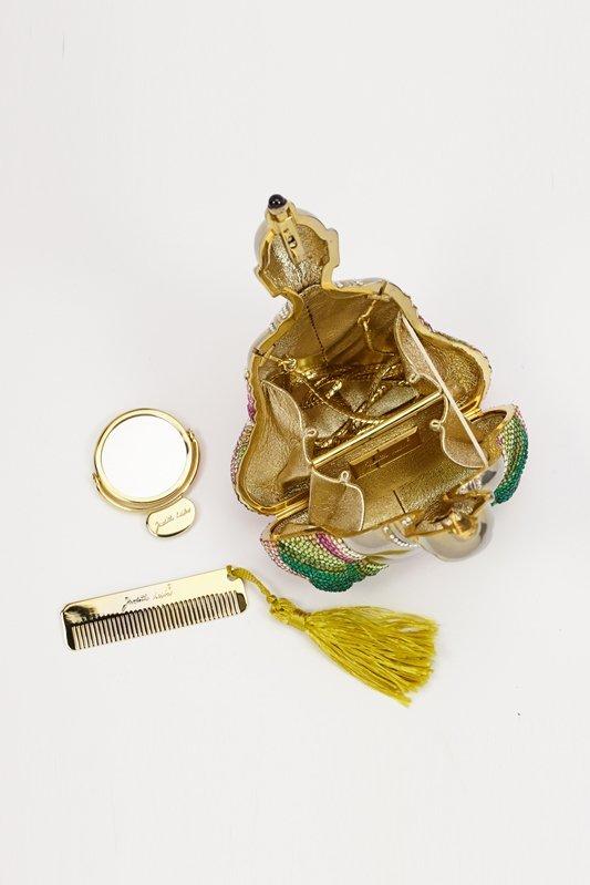 Judith Leiber Buddha Crystal Evening Bag - 4