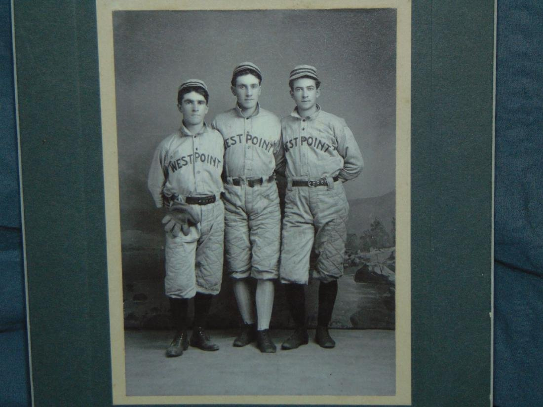 Early Baseball Photo. West Point.