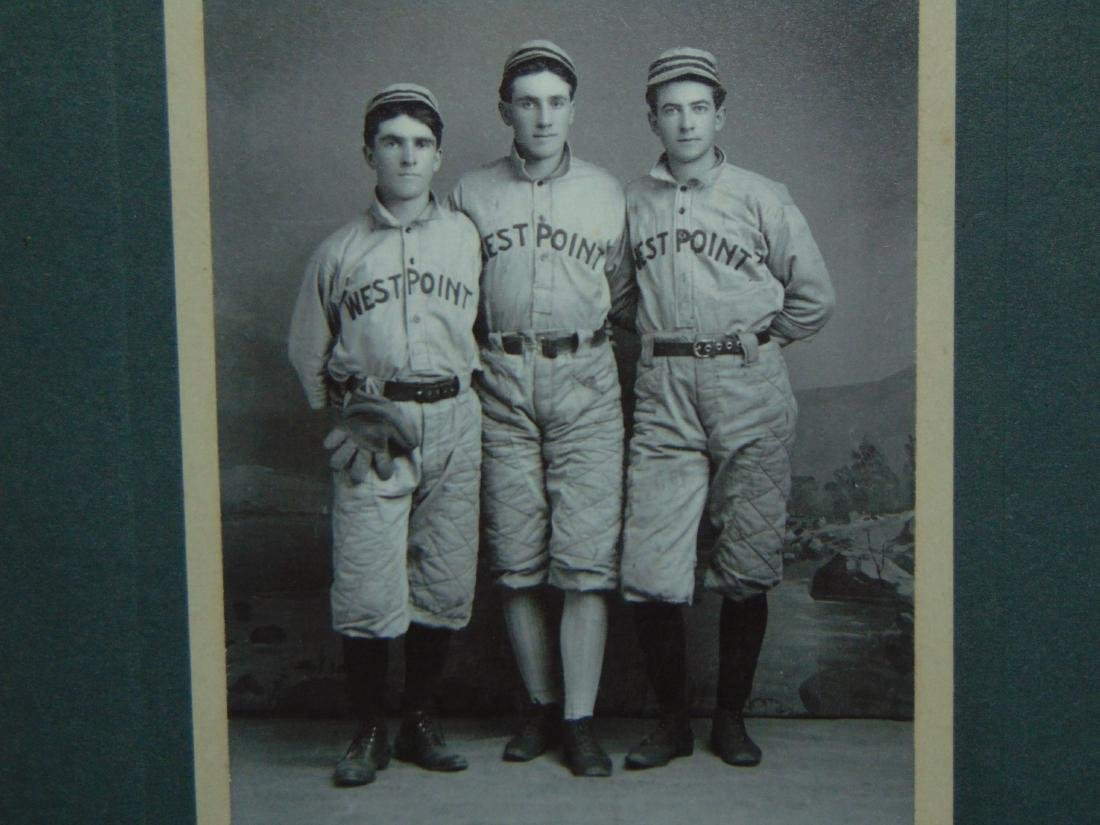 Early Baseball Photo. West Point. - 2