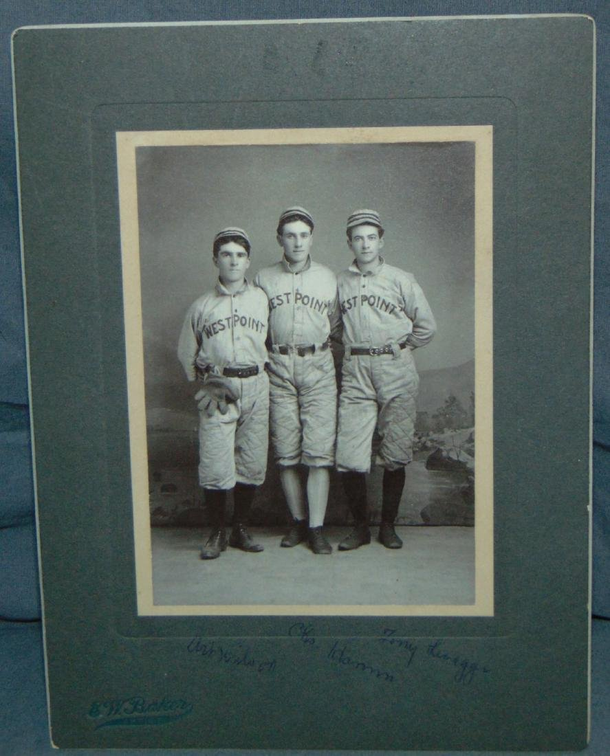 Early Baseball Photo. West Point. - 4