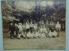 Circa 1880's Baseball Photo.