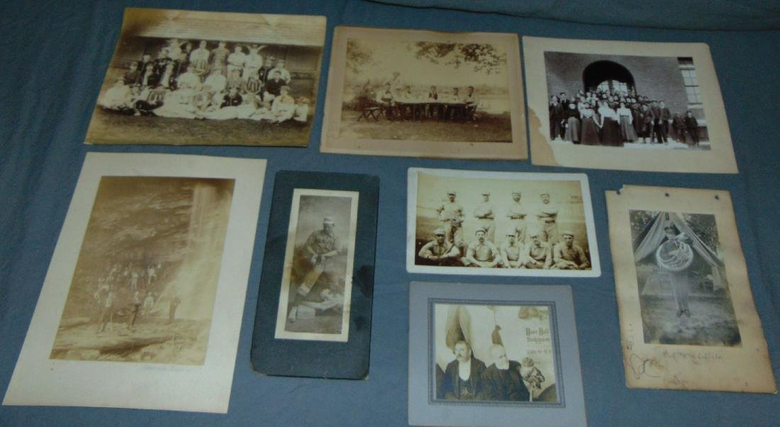 Great Lot of 19th Century Baseball & Sport Photos.
