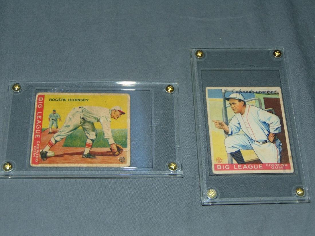 1933 Goudey Lot of Two.