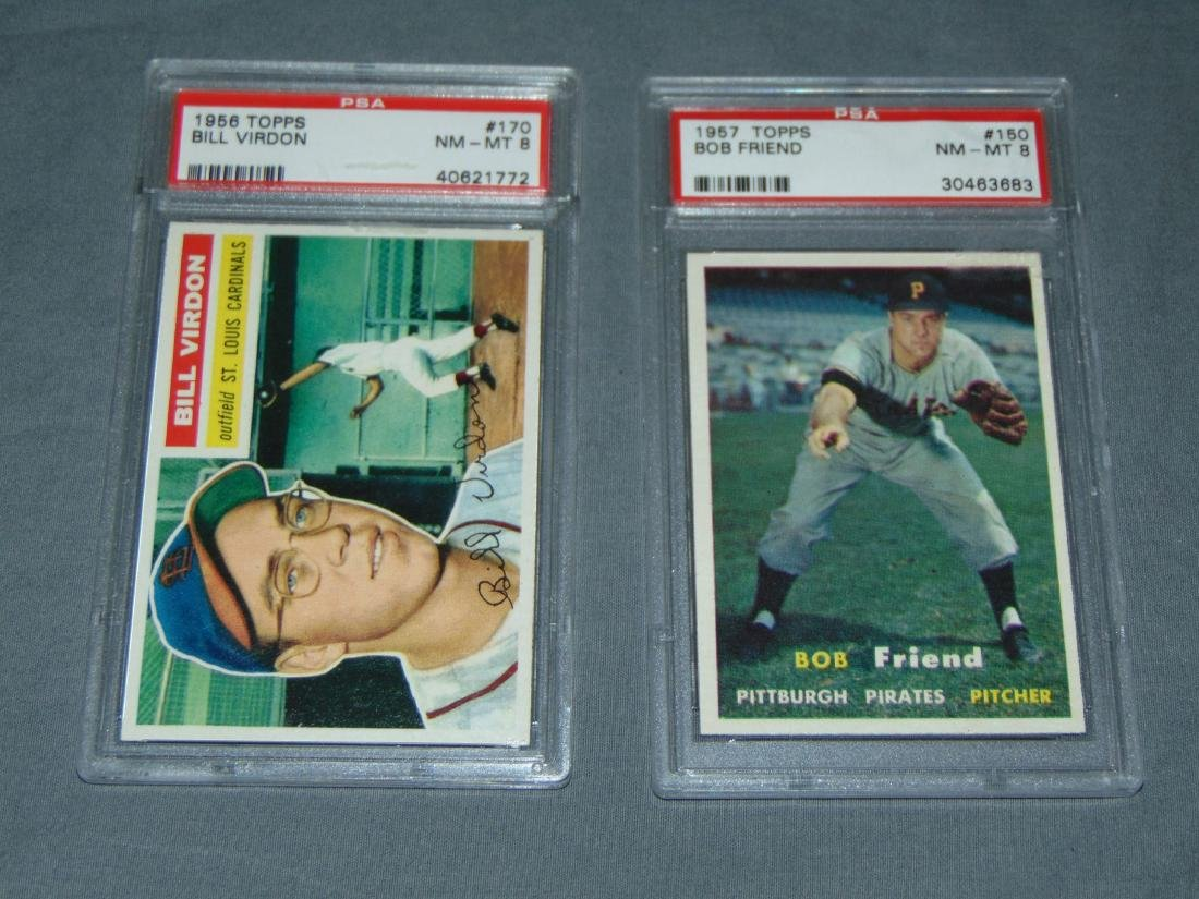PSA Graded Topps Lot of Two.