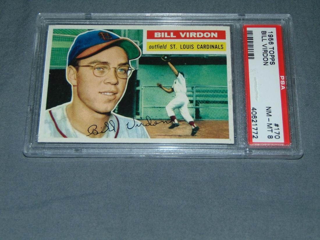 PSA Graded Topps Lot of Two. - 2