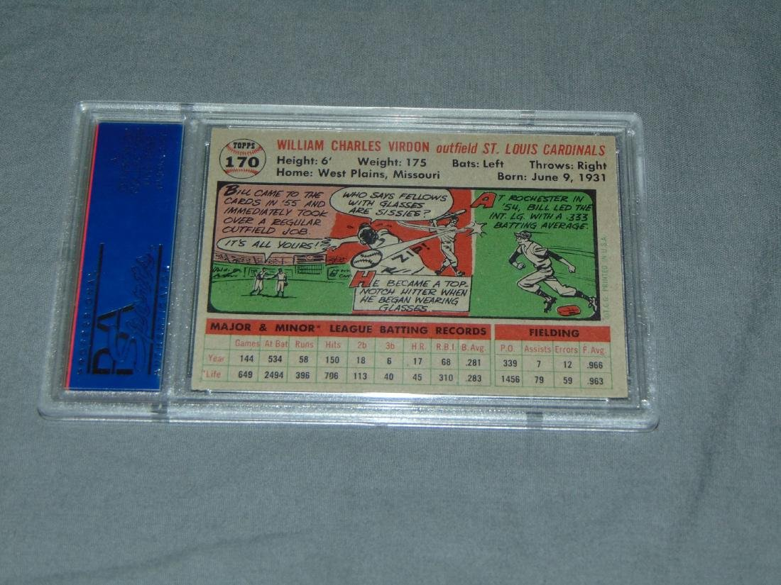 PSA Graded Topps Lot of Two. - 3