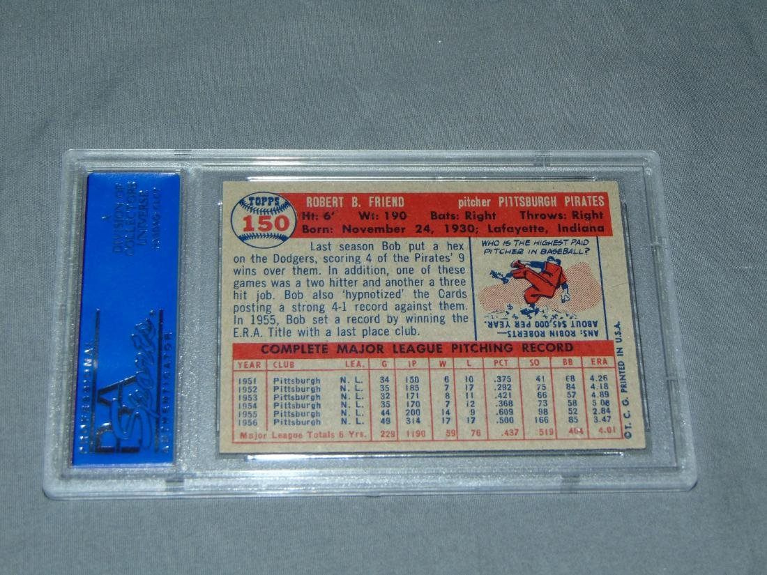 PSA Graded Topps Lot of Two. - 5