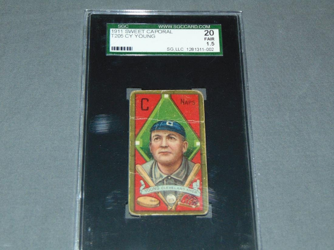 T-205 Cy Young. SGC Graded.