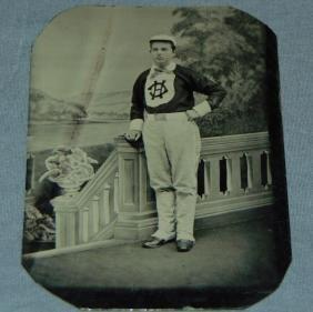 Baseball Tintype.