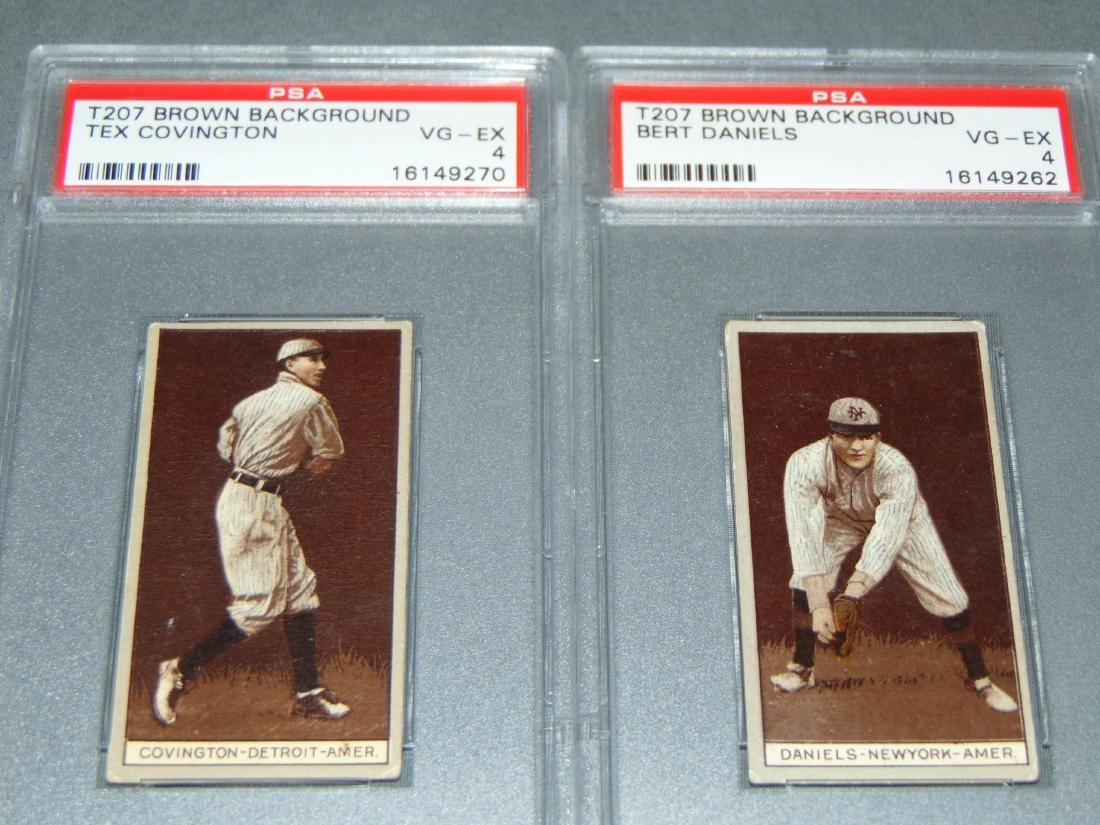 T-207 PSA Graded Lot of Eight. - 2