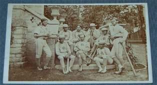 Racine College Baseball Team.