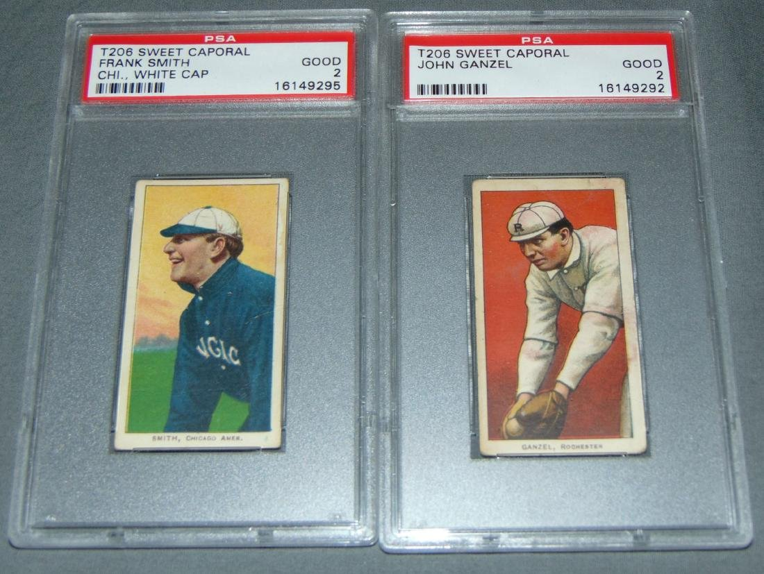Lot of Five Graded Baseball Cards. - 3