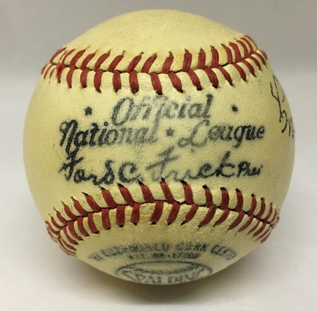 Single Signed Baseball. Cy Young. JSA. - 2