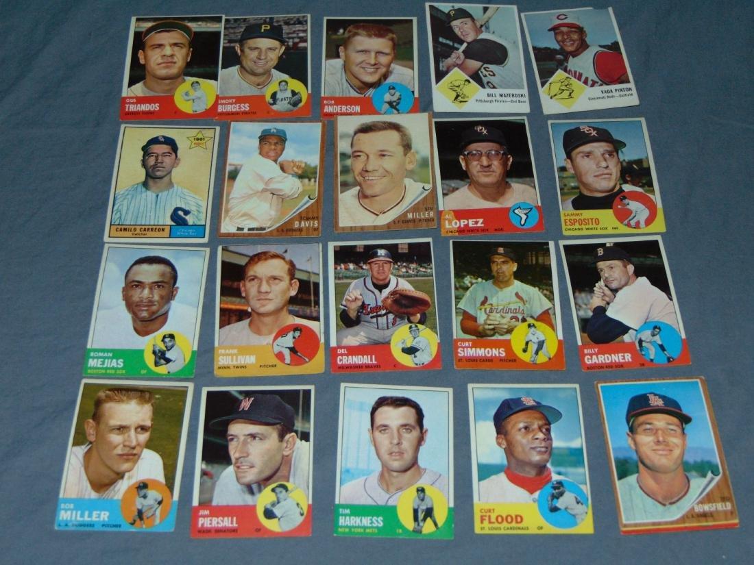 1960's Baseball and Football Card Lot. - 4