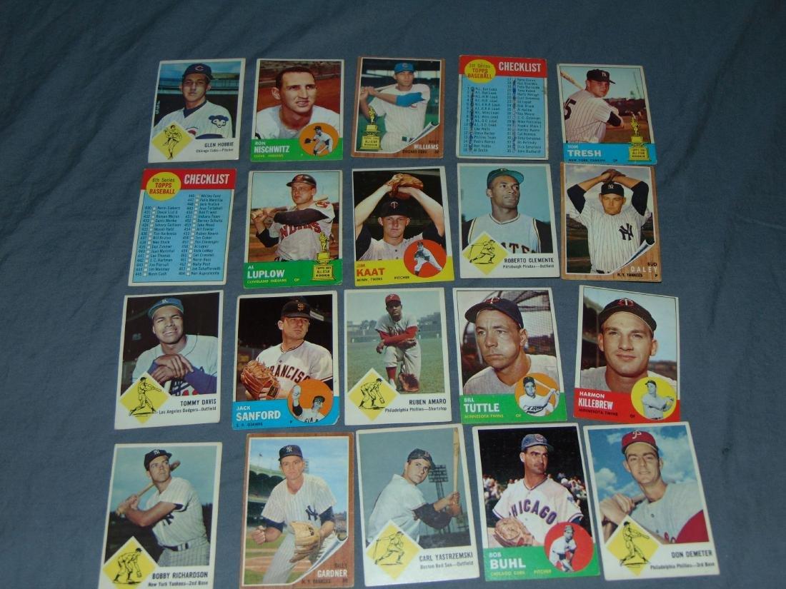 1960's Baseball and Football Card Lot. - 5