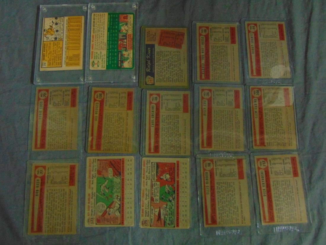 1950's-60's Baseball Card Lot. - 2