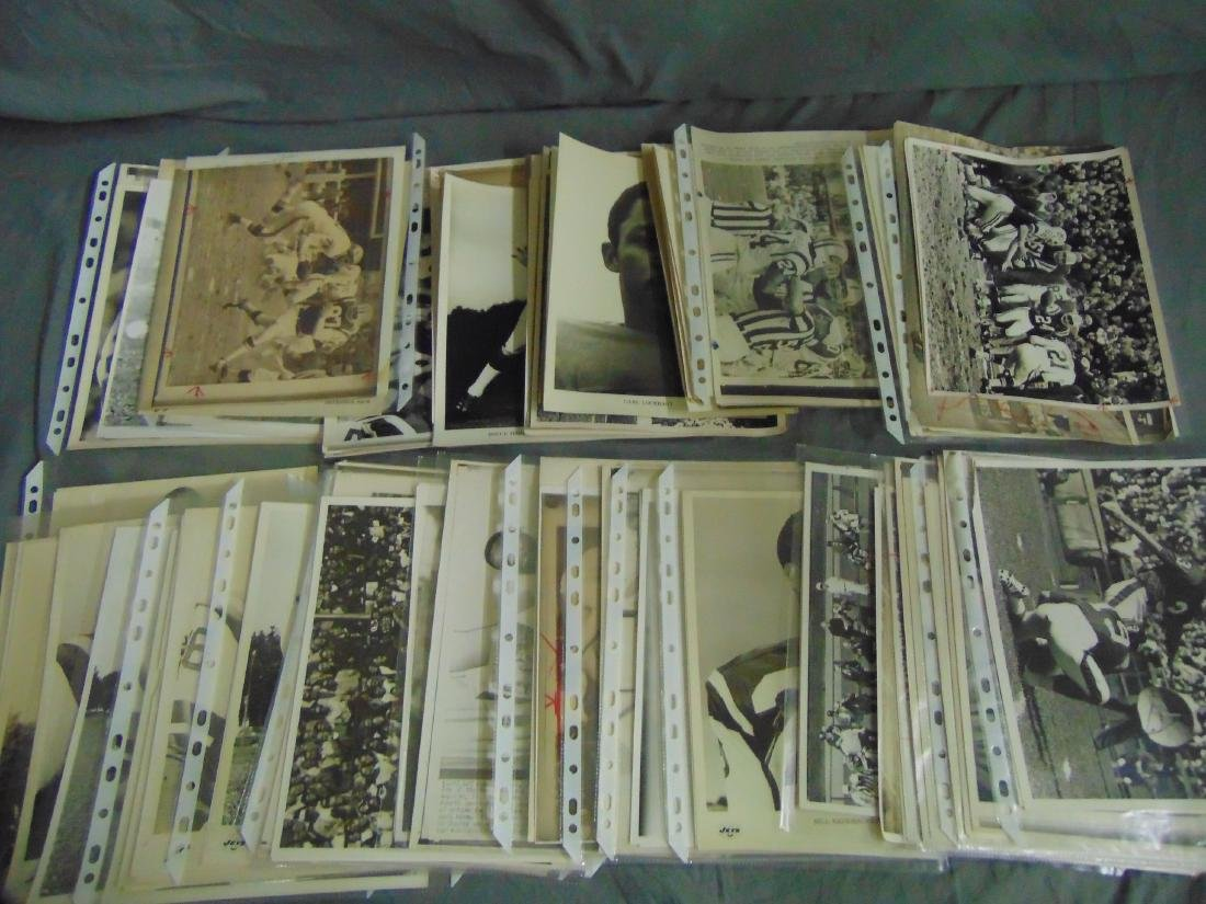 Lot of Football Publication Photos, 2nd Generation