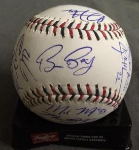 2015 NL All Star Team Signed Baseball