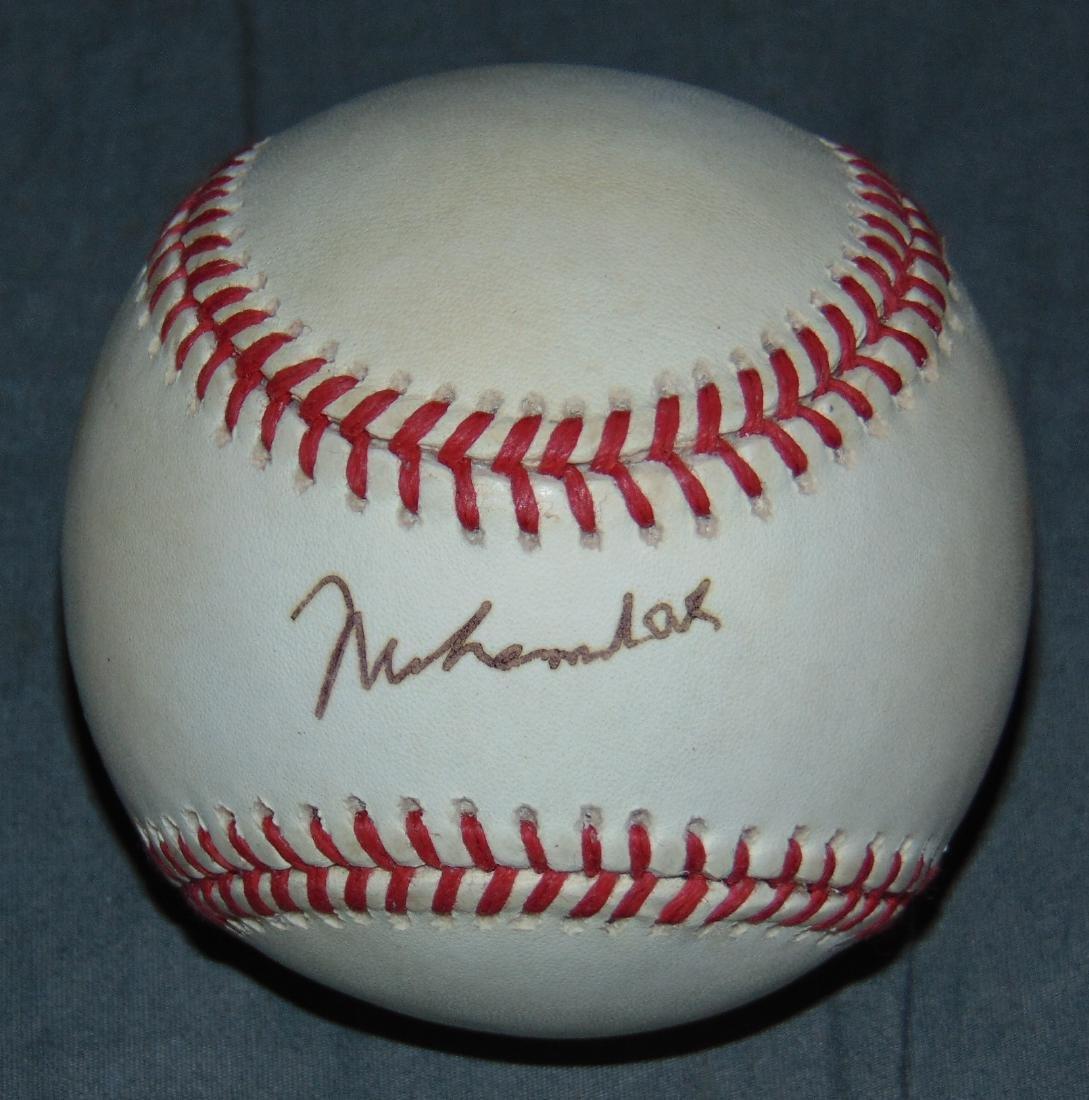 Muhammad Ali Single Signed Baseball