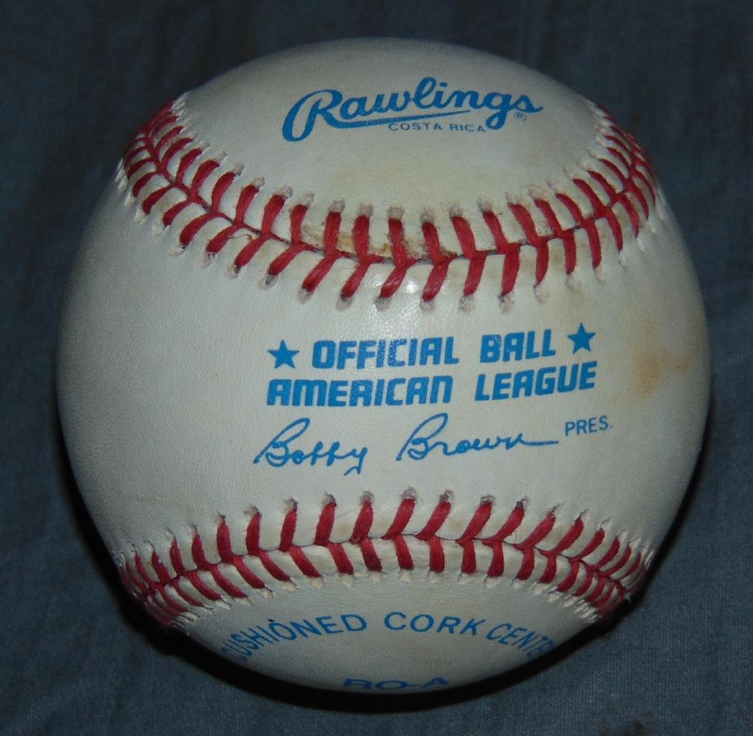 Muhammad Ali Single Signed Baseball - 2