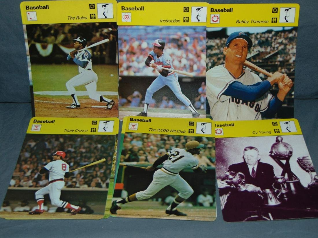 Huge Lot of 1977-79 Sportscaster Cards, All Sports - 2