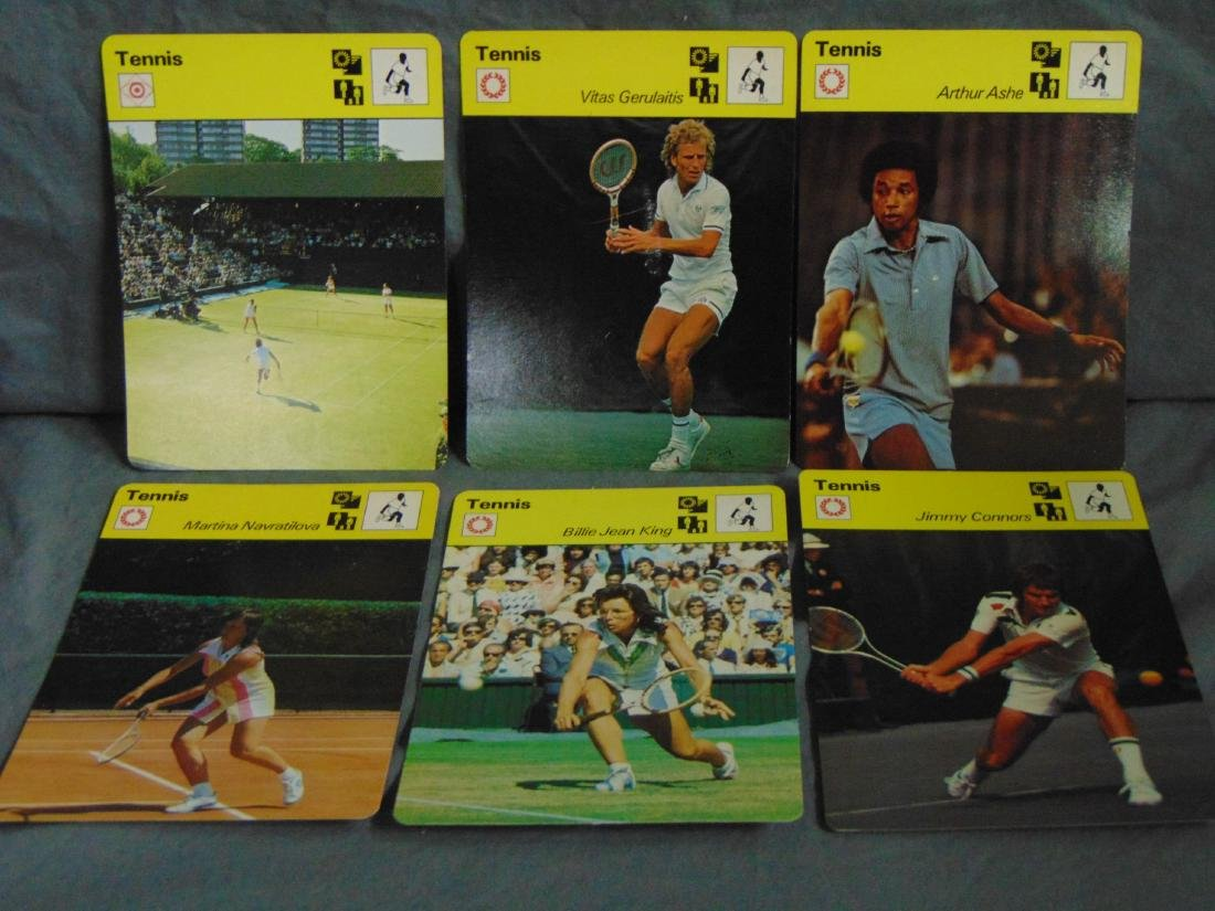 Huge Lot of 1977-79 Sportscaster Cards, All Sports - 3