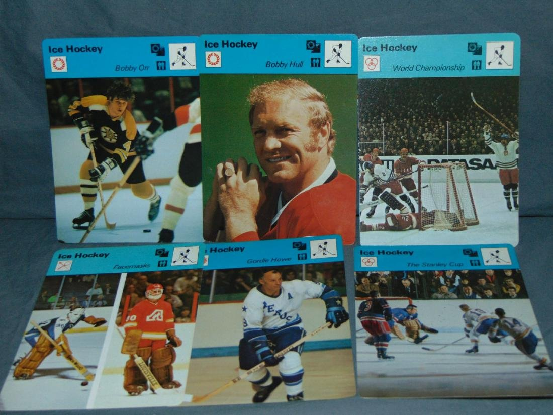 Huge Lot of 1977-79 Sportscaster Cards, All Sports - 4
