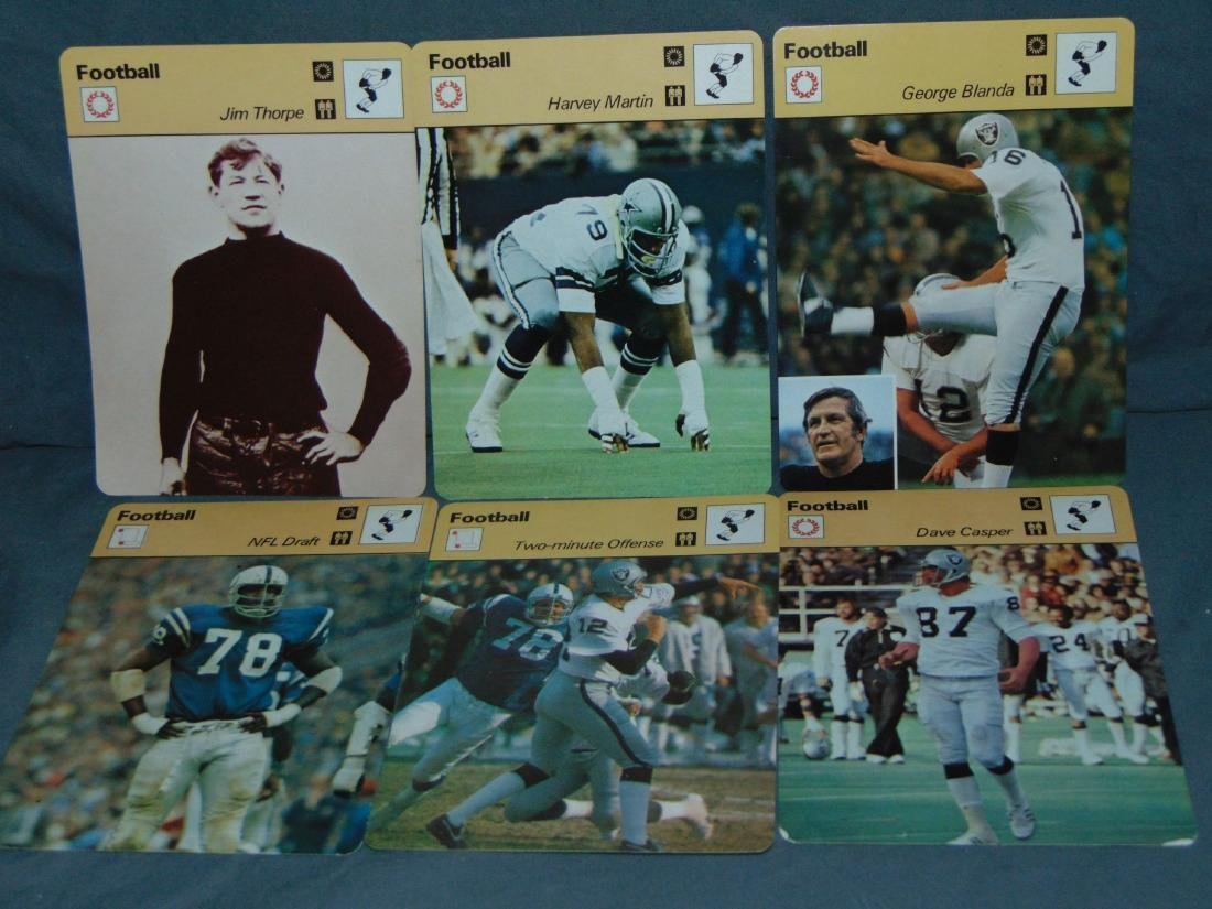 Huge Lot of 1977-79 Sportscaster Cards, All Sports - 5