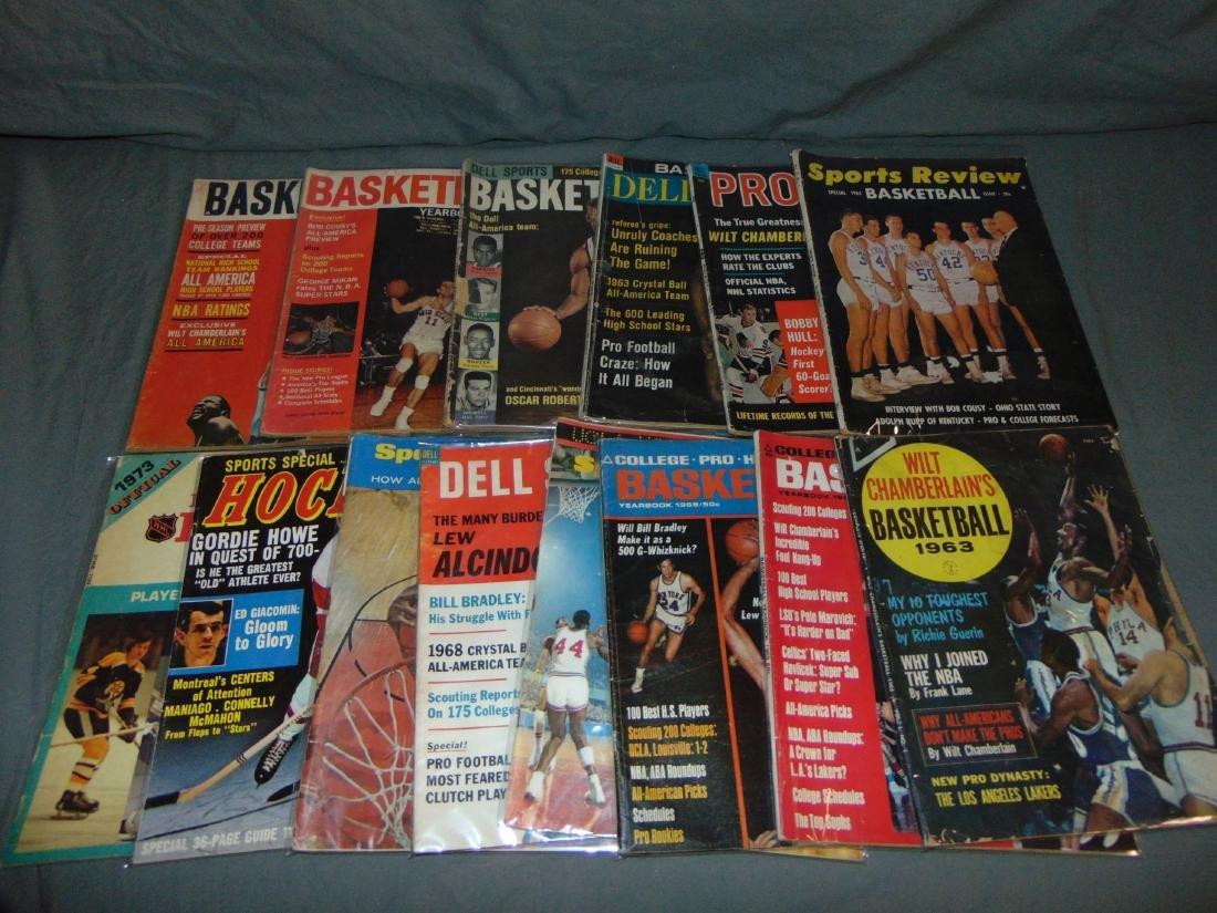 Vintage Basketball Magazine/Publication Lot