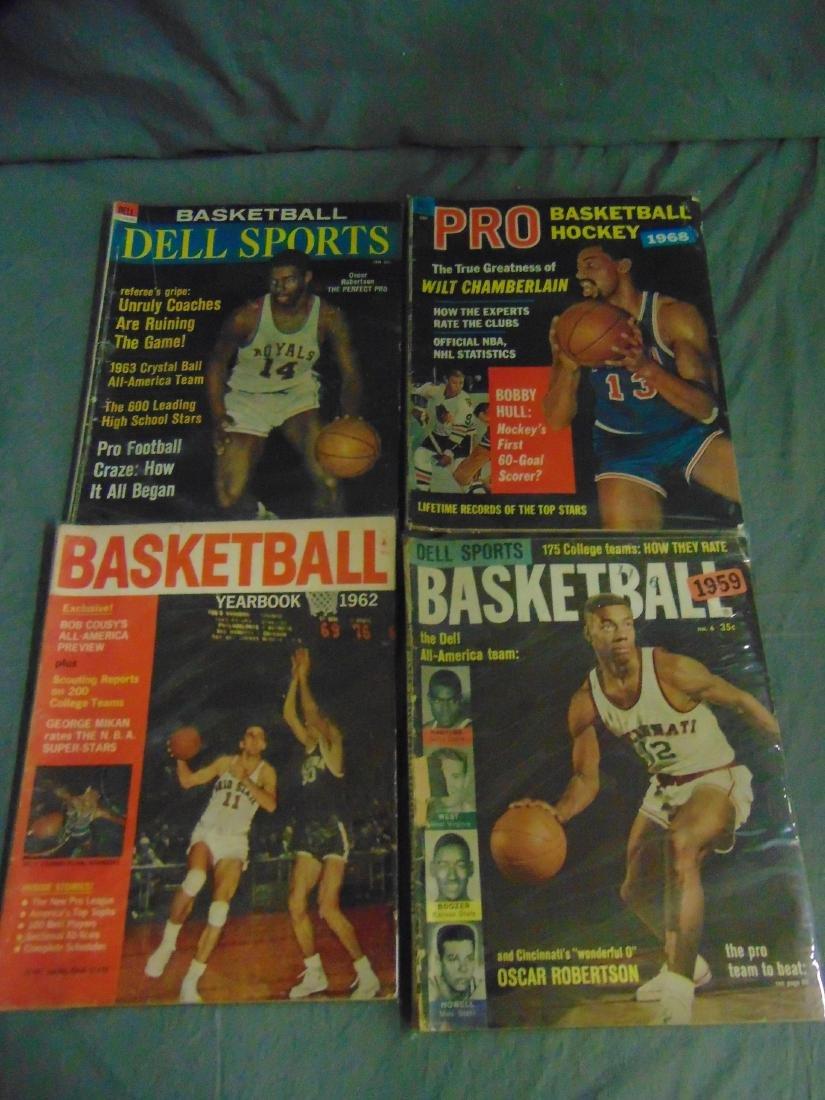 Vintage Basketball Magazine/Publication Lot - 2