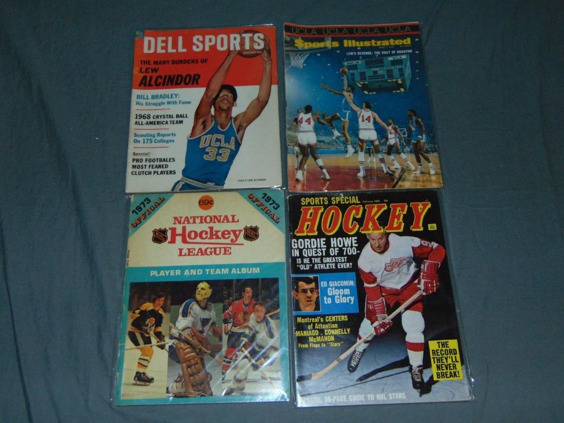 Vintage Basketball Magazine/Publication Lot - 3