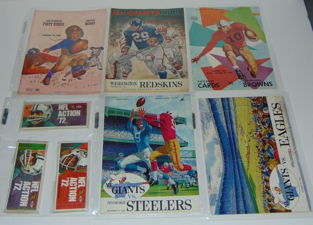 Vintage Football Magazine/Publication Lot