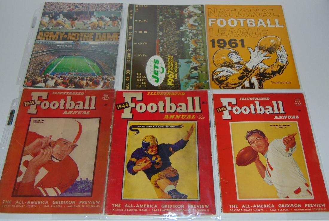 Vintage Football Magazine/Publication Lot - 2