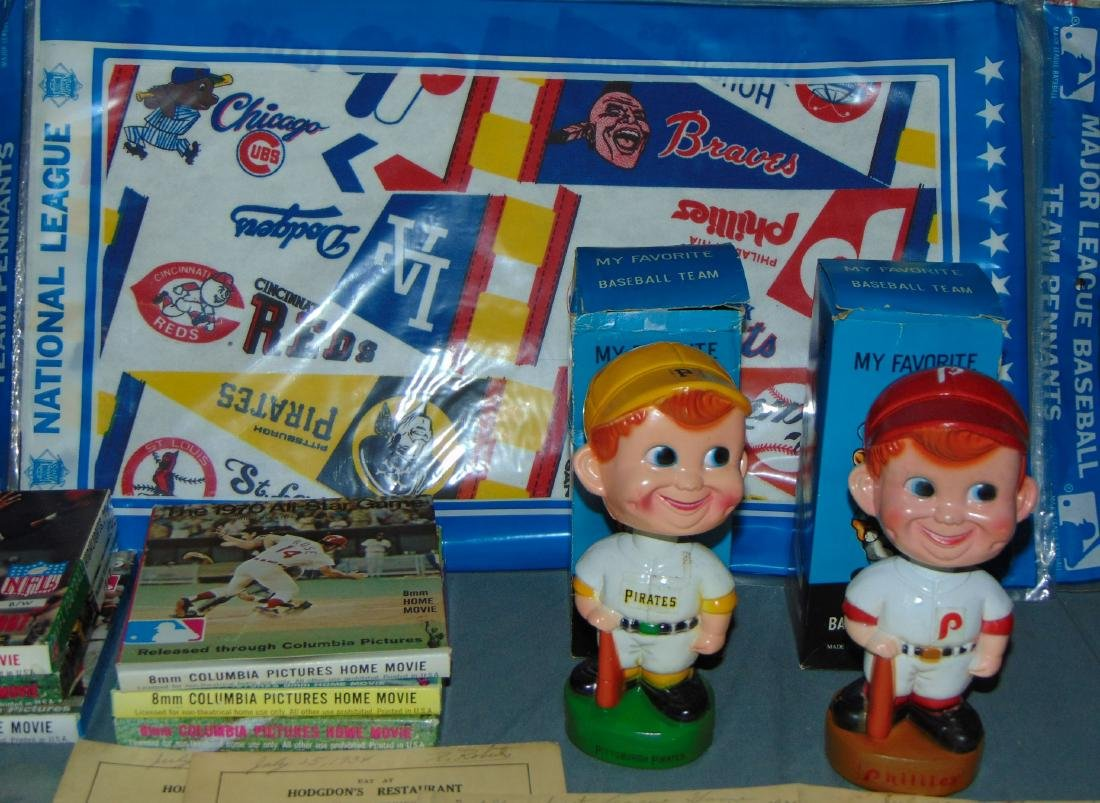 Assorted Sports Collectible Lot - 3