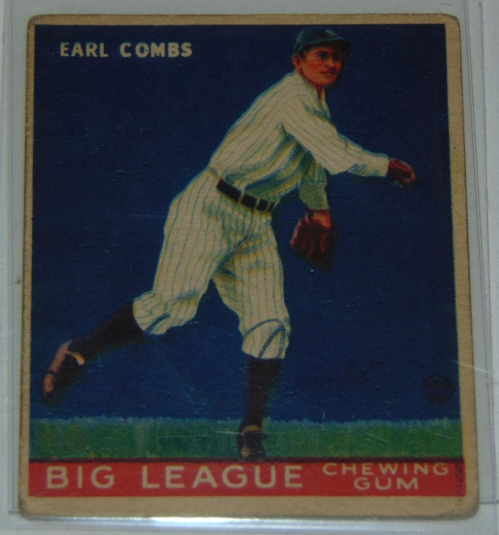 1933 Goudey. Lot of Five Signed Cards. - 2