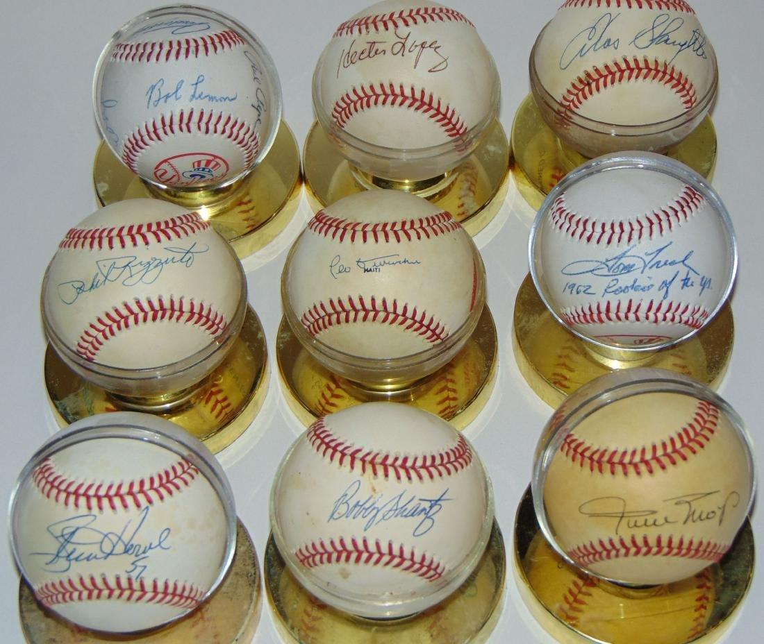 Signed Baseball Lot.