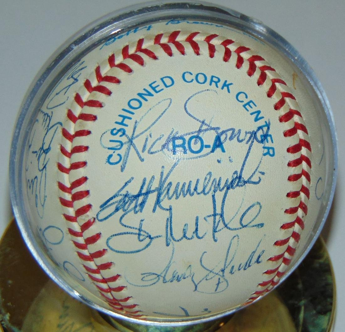 Signed Baseball Lot. - 5
