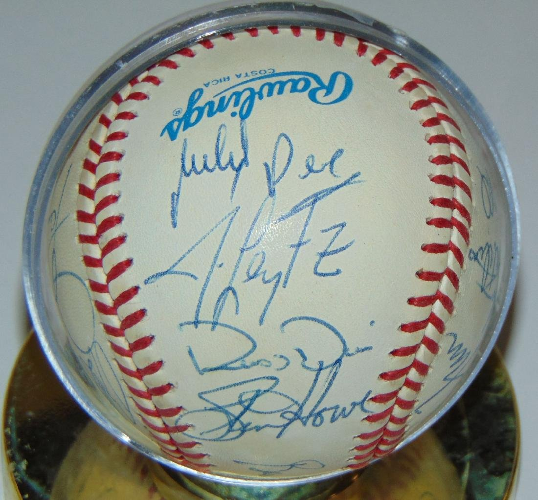 Signed Baseball Lot. - 6