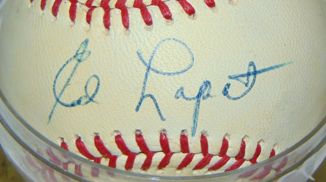 Signed Baseball Lot. - 3