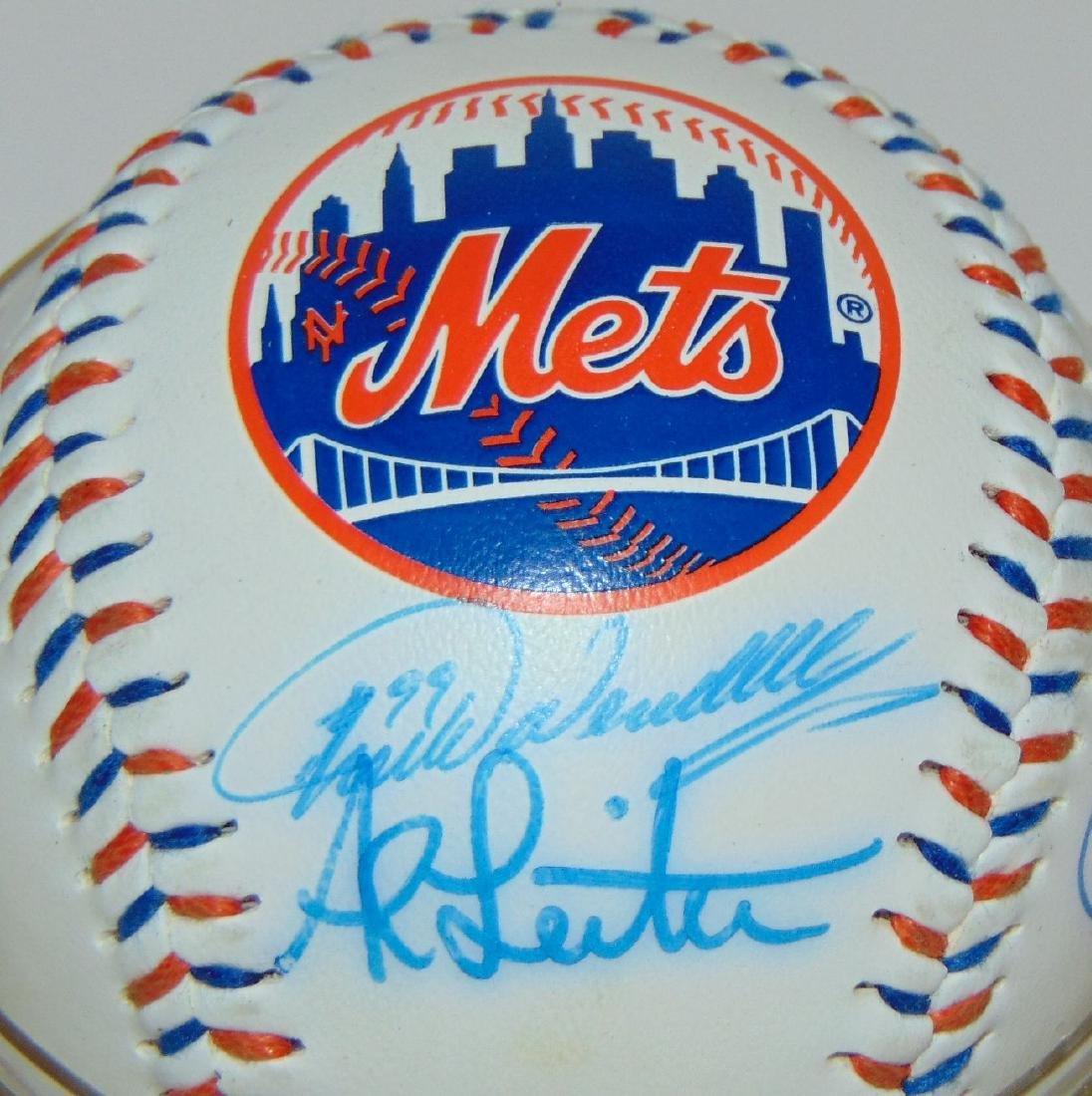 Signed Baseball Lot. - 4