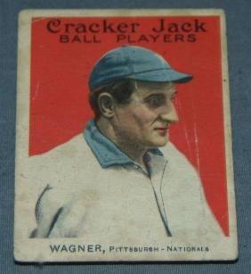 Honus Wagner Cracker Jack #68.