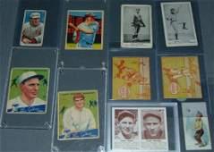 Terrific 1910-1930's Baseball Card Lot.