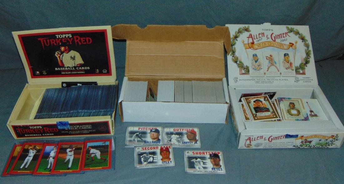Large Lot of Modern Cards.