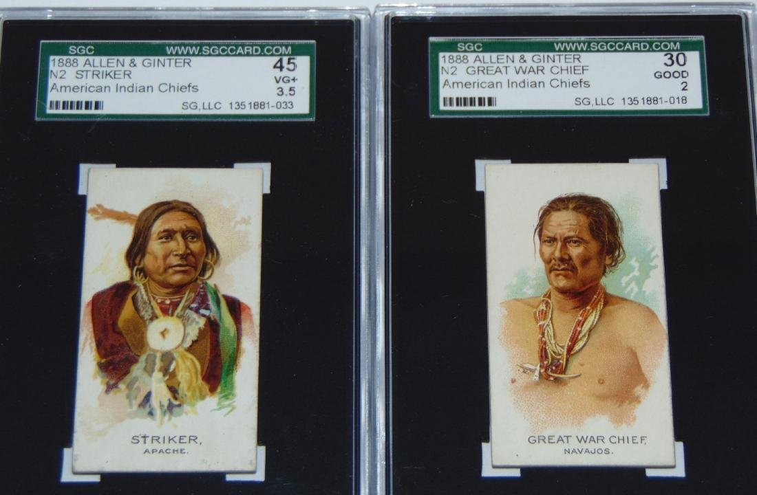 N2 Allen and Ginter American Chiefs. - 2