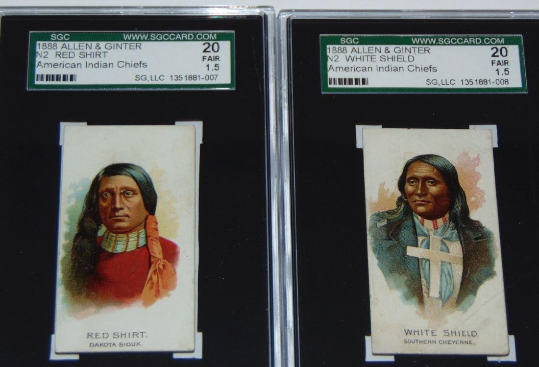 N2 Allen and Ginter American Chiefs. - 3