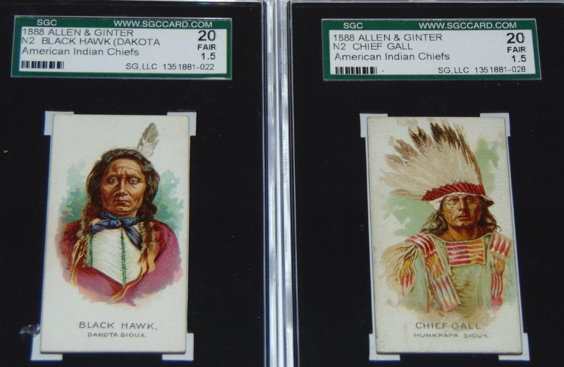 N2 Allen and Ginter American Chiefs. - 4