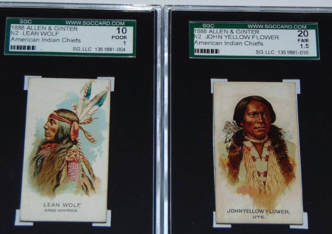 N2 Allen and Ginter American Chiefs. - 5