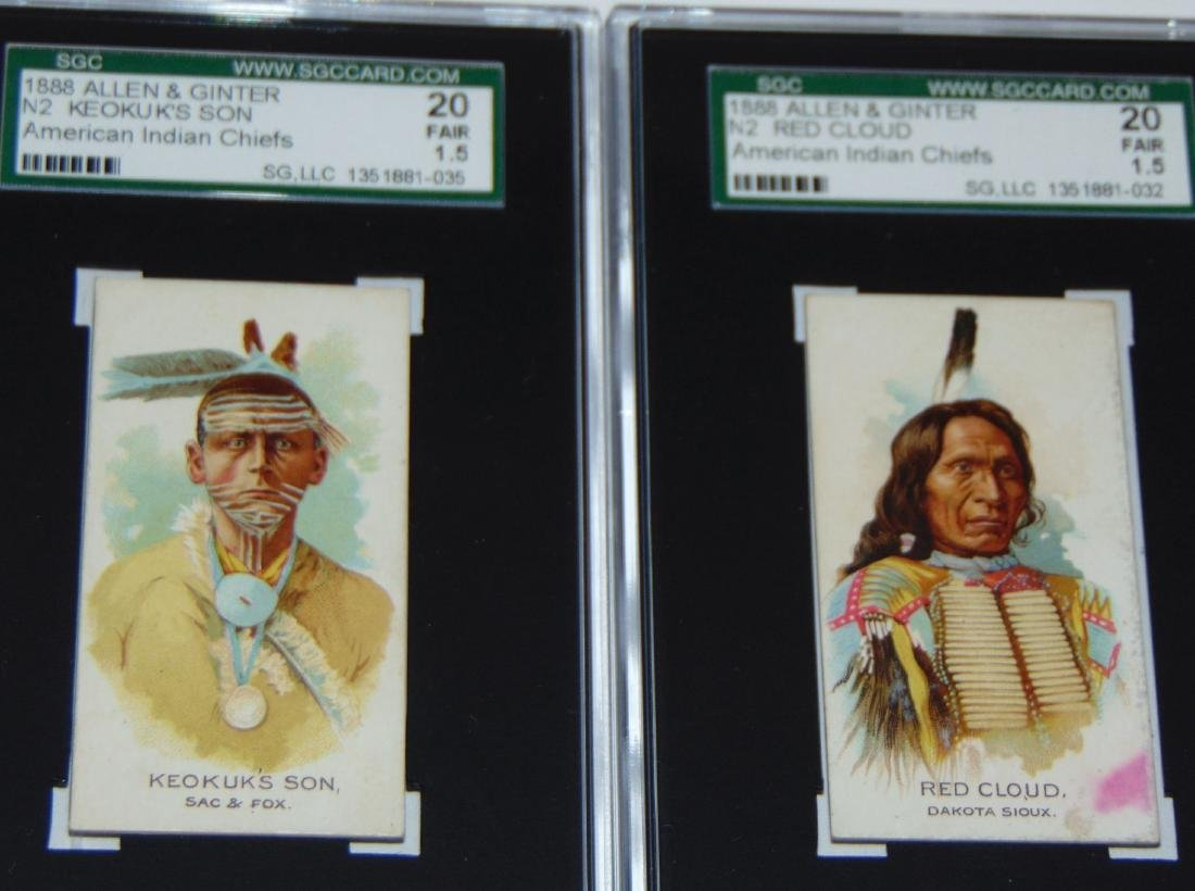 N2 Allen and Ginter American Chiefs. - 6
