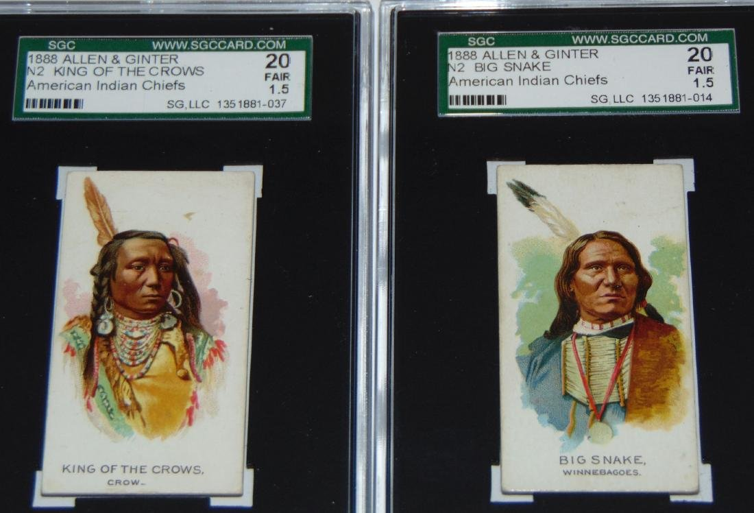 N2 Allen and Ginter American Chiefs. - 7